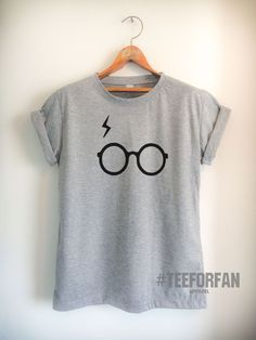 Harry Potter Shirt Harry Glasses And Lightening Scar T-Shirt