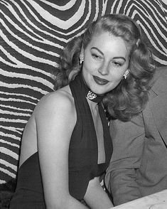 Ava Gardner at El Morocco nightclub, 1945