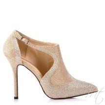 Damske zlate lodicky GATSB #pumps #shoes