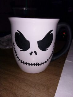I painted this on a dollar store mug