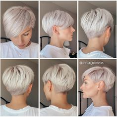 Edgy Short Hair, Short Hair Trends, Short Hair Cuts For Women, Short Hair Styles, Edgy Pixie, Short Pixie Haircuts, Cute Hairstyles For Short Hair, Pixie Bob Hairstyles, Great Hair