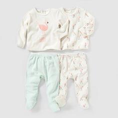 Pijama 2 peças, veludo (lote de 2), 0 meses-3 anos R baby