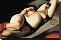 women in art - love the volouputuousness... A BELLE RAFAELA By Tamara De Lempicka
