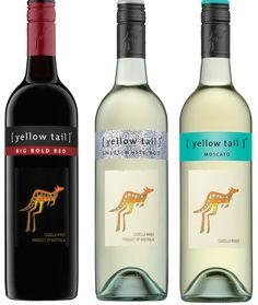 [Yellow Tail] Releases Three New Wines - Big Bold Red, Sweet White Roo and Pink Moscato