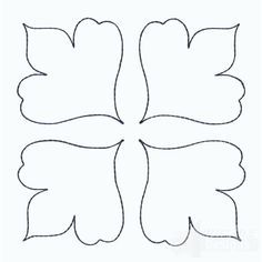 Paper Flower Patterns, Paper Flowers Craft, Paper Crafts Origami, Giant Paper Flowers, Felt Patterns, Felt Flowers, Flower Crafts, Paper Butterflies, Bird Template