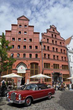 Das Romantik Hotel Scheelehof in Stralsund an der Ostsee