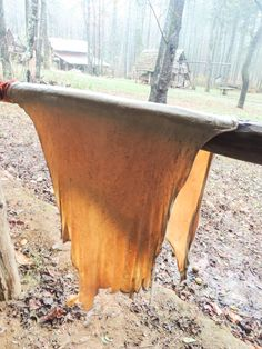 Join me for a step by step picture tutorial on how to tan a deer hide. We will learn the process of brain tanning hides into workable buckskin. Homestead Survival, Wilderness Survival, Camping Survival, Survival Prepping, Survival Skills, Survival Gear, Tanning Deer Hide, Tanning Hides, How To Tan