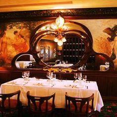 Maxim's  Paris Restaurant : Style Art Nouveau