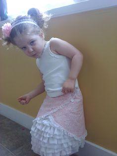 Sew Fantastic: Ruffle Skirt Part 2