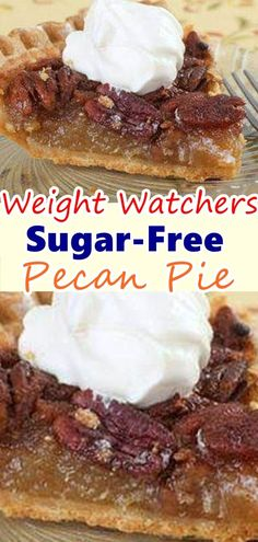 Classic pecan pie gets a sugar free grain-free makeover! I just updated my pecan pie recipe to be better than ever. It's easier to make and healthy… Don't forget to Pin this so it will be SAVED to your timeline! Sugar Free Deserts, Sugar Free Recipes, Ww Recipes, Low Carb Recipes, Quick Recipes, Cooking Recipes, Recipe For Sugar Free Pecan Pie, Sugar Free Sweets, Healthy Recipes