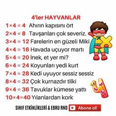 Turkish Lessons, Math Sheets, Turkish Language, Homeschool, Activities, Education, Sayings, Reading, Kids