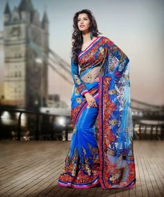 Latest Wedding Sarees, Bridal Wear Sarees for Dulhan 2014 IndianRamp.com | Indian Ramp