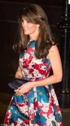 Catherine, Duchess of Cambridge. October 27, 2015.
