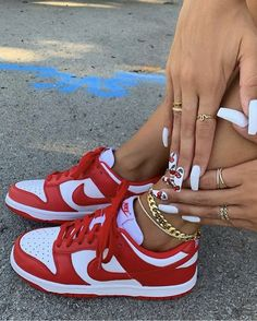 Dr Shoes, Swag Shoes, Nike Air Shoes, Hype Shoes, Me Too Shoes, All Red Nike Shoes, Jordan Shoes Girls, Girls Shoes, Nike Jordan Shoes