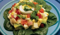 Avocado egg salad is healthy, protein-packed, and perfect for any occasion. Enjoy a taste of summer with this avocado egg salad recipe from the Incredible Egg. Healthy Egg Recipes, Dairy Free Recipes, Salad Recipes, Avocado Pesto, Avocado Egg Salad, Simple Spinach Salad, Incredible Eggs, Appetizer Salads, Smoothie Ingredients