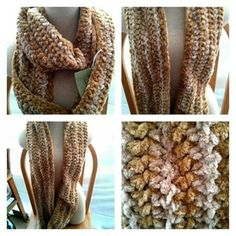 Super soft chunky infinity scarf #173 in Portland, OR (sells for $40)