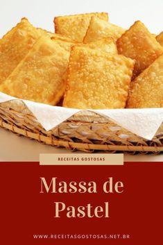 Cheesy Recipes, Keto Recipes, Cooking Recipes, Portuguese Desserts, Portuguese Recipes, Brazilian Pastel Recipe, Coxinha Recipe, Cape Verde Food, Brazillian Food