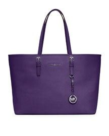 Love purple - Oh, I so want his purse in my favorite color! Do I need it? No, but I sure want it
