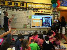 See how a first grade teacher planned a Kahoot game with classes around the country!