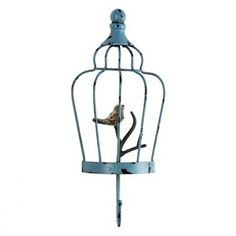 Birdcage Metal Wall Hook