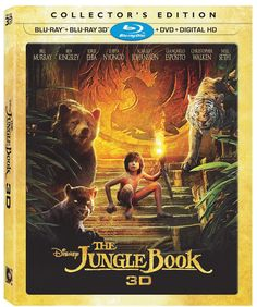 Disney's The Jungle Book 3D Collectors Edition on Blu-ray 3D on November 15th