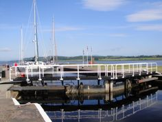 Caledonian Canal, entrance Inverness, Scotland
