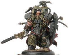 Primarch - Ferrus Manus of the Iron Hands #miniatures #warhammer40k #40k