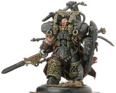 Primarch - Ferrus Manus of the Iron Hands #miniatures #warhammer40k #40k