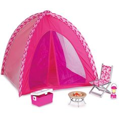 american girl doll camping gear | ... Chair set with crutches & cast doll 4 American Girl doll Mckenna BNIB