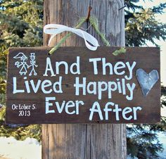 happly ever after sign | HAPPILY EVER AFTER Barn Wood Sign Hand Painted by JunkWorxxEtc, | DIY. can use pallets