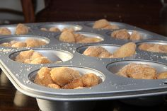 Individual Monkey Bread cups (making these RIGHT NOW!)