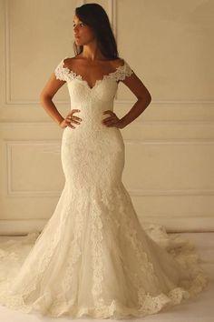 Wedding Dresses 2018 #WeddingDresses2018, Mermaid Wedding Dresses #MermaidWeddingDresses, Wedding Dresses Lace #WeddingDressesLace