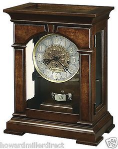 Howard Miller 630-266 Emporia - Mechanical Key-wound Chiming Mantel Clock
