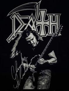 Metal Bands, Rock Bands, Chuck Schuldiner, Metallica Band, Rock Band Posters, Band Wallpapers, Metallic Wallpaper, Thrash Metal, Rock Legends