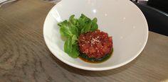 Barawine Yellowfin Tuna Tartar «  Chef Marcus Samuelsson