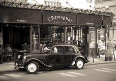 vintage paris by prakash topsy on Paris 11, Old Paris, Paris Cafe, Vintage Paris, Manx, French Classic, Classic Cars, Art Deco Car, Retro Photography