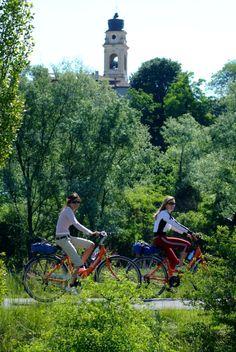 In bici sul Mincio #mantova #morainic #hills #mantua #lake #garda #nature #colline #moreniche #bike #cycle