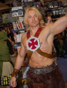 Comic Con 2010: He-Man.