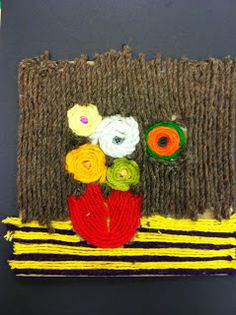 Art @ Massac: 5th Grade VanGogh Flowers