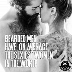 women who like men with beards