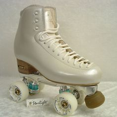 The Ambra.Mistral Roller Risport, Starlight ❤❤❤.  The most beautiful roller skate - and they are mine!!!