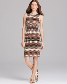 Karen Kane Tribal Ikat Dress | Bloomingdale's