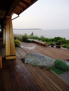 #tarima de #exterior #deck www.decorgreen.es