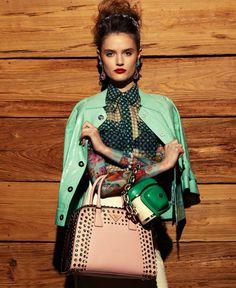 Elegant full sleeves. Model: Katie Fogarty Photographer: Jason Kim Tattoo: Jenai Chin, Maki H Blackbook, April 2012