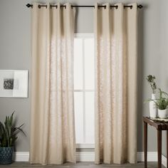 Beige,On Sale Window Treatments: Free Shipping on orders over $45! From Curtains to Blinds, Drapes and More, we've got your windows covered with Overstock.com Your Online Home Decor Store! Get 5% in rewards with Club O!