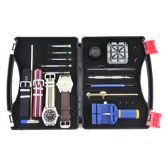 This is a really cool product, which is very poorly photographed on the vendor's website.  Tokyo Bay DIY Watch Kit.  $210.