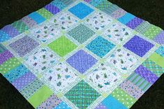 bitty bits & pieces: Bubbly Babies Quilt