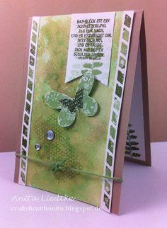 Crafts and Arts Fun with Anita: Green for a man / Grün für einen Mann - In(k)spire Me # 183, The Friday Mashup # 195