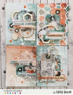 ATC's by Cindy Brown