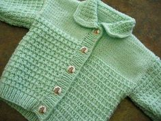 Ravelry: Project Gallery for Textured Cardigan Jackets and Pullover pattern by Sirdar Spinning Ltd. Ravelry: Project Gallery for Textured Cardigan Jackets and Pullover pattern by Sirdar Spinning Ltd. Baby Cardigan Knitting Pattern Free, Baby Boy Knitting Patterns, Knitted Baby Cardigan, Knit Baby Sweaters, Knitted Baby Clothes, Crochet Baby Booties, Baby Patterns, Baby Boy Cardigan, Crochet Hats
